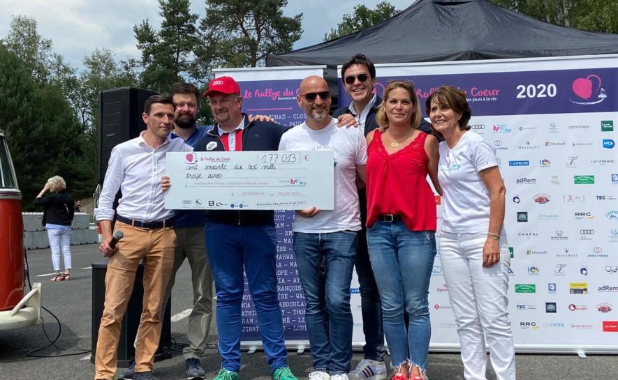 Magnifique record pour le Rallye du coeur 2020