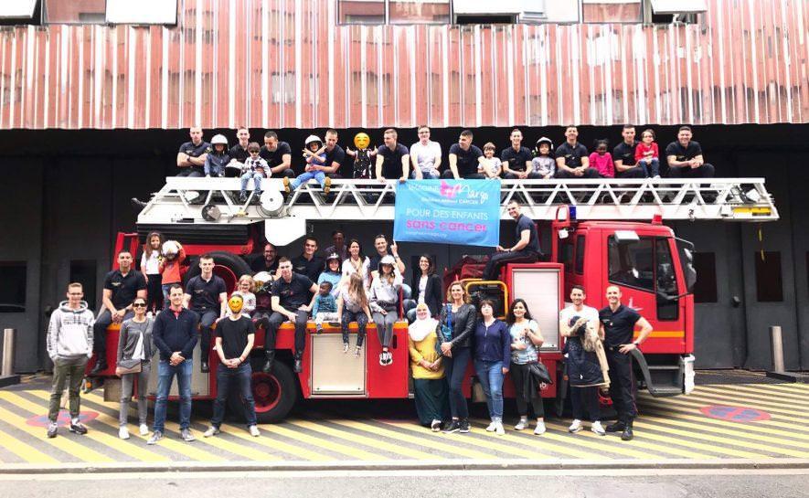 Une deuxième rencontre chez les pompiers