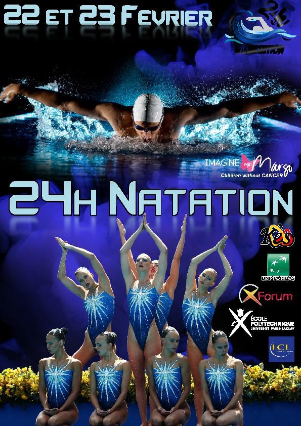 24h natation