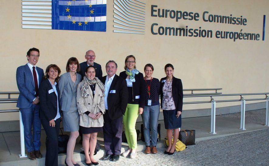 Rencontre avec le commissaire Européen à Bruxel