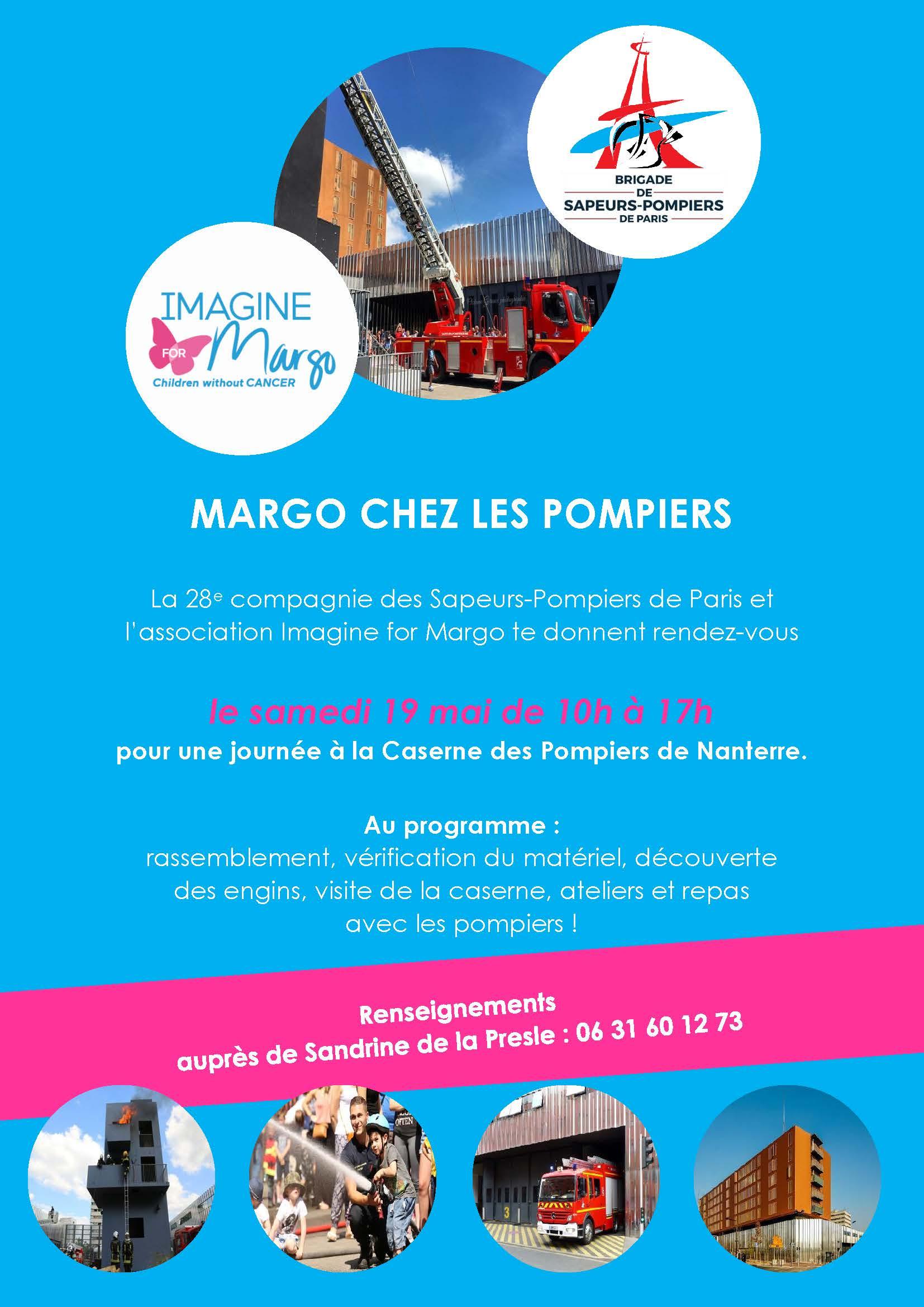 MARGO CHEZ LES POMPIERS