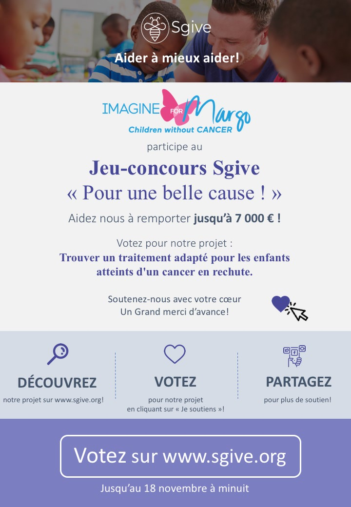 concours sgive pour Imagine for Margo