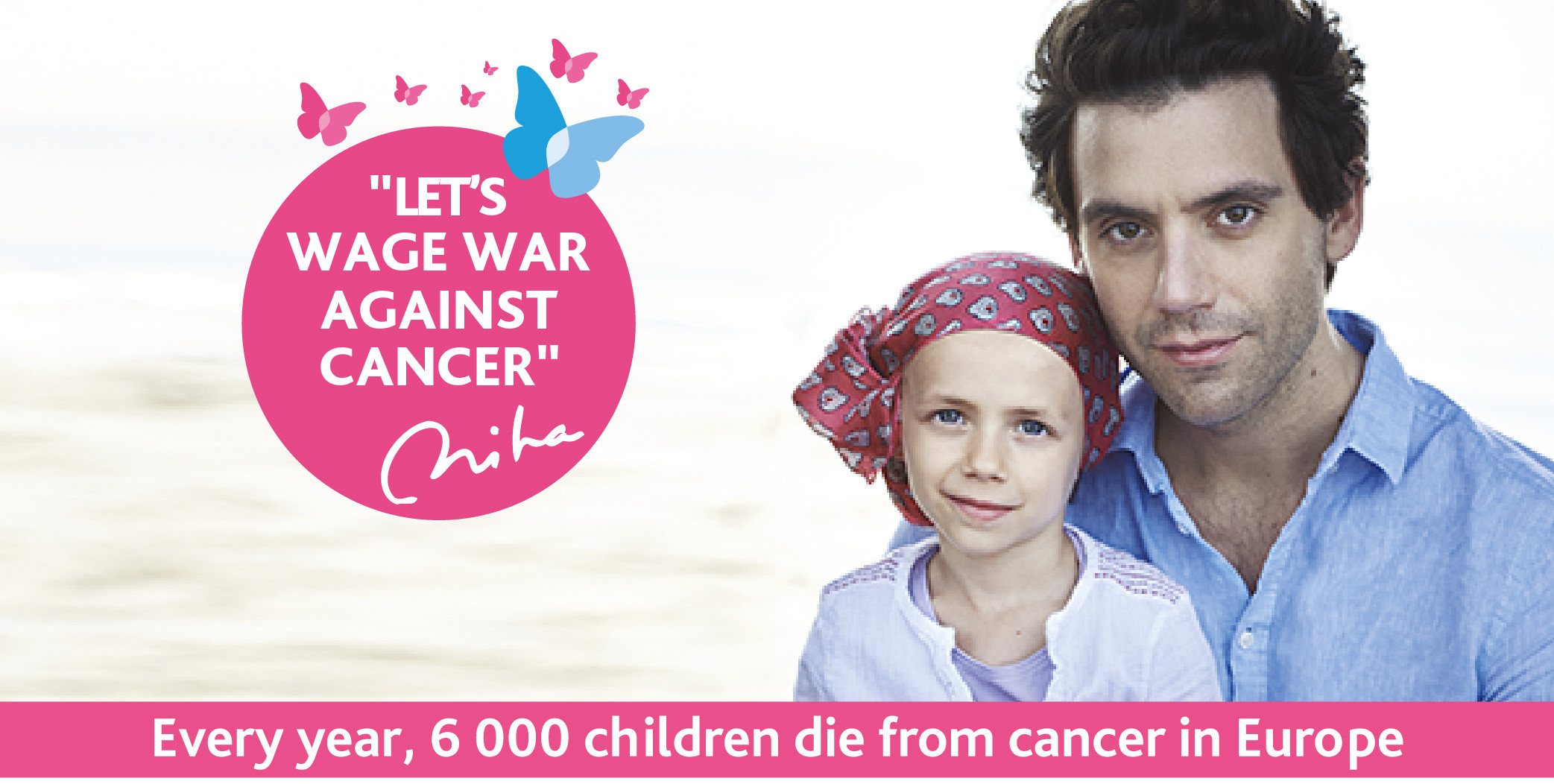 mika and janotte fight against childhood cancer imagine for margo