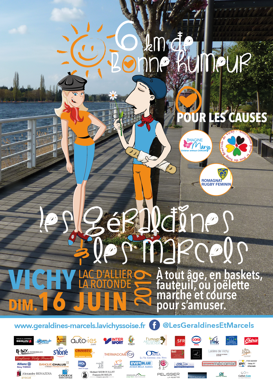 course solidaire à Vichy les Marcels et les Géraldines