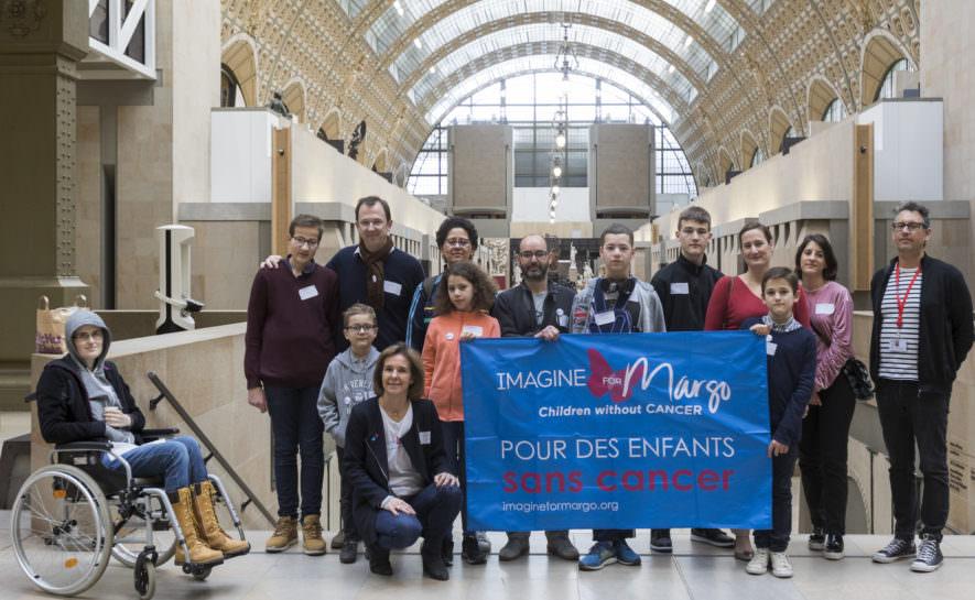 Visite-atelier au musée d'Orsay pour nos petits guerriers et leur famille
