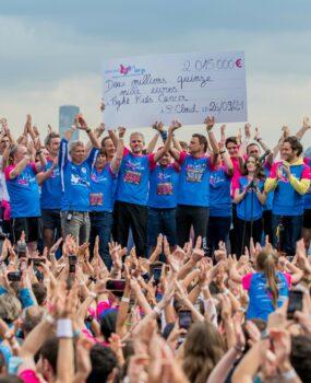 Un nouveau record pour la 10e édition de la course Enfants sans Cancer !