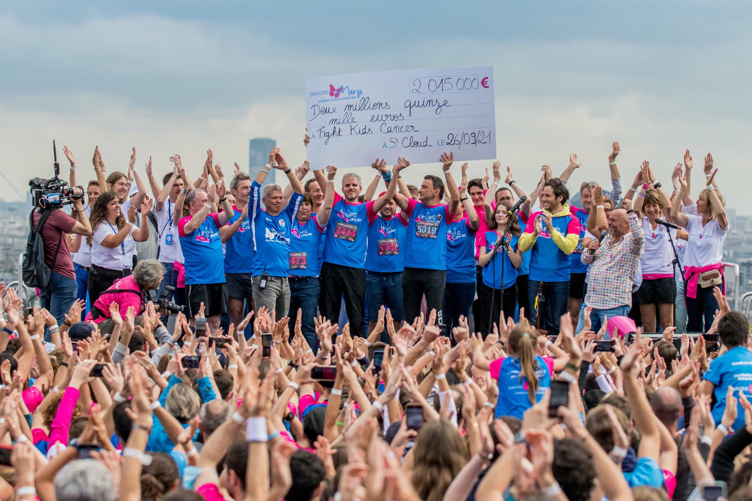 Plus de 2 millions d'euros collectés pour la recherche à l'occasion de la 10e édition de la course Enfants sans Cancer
