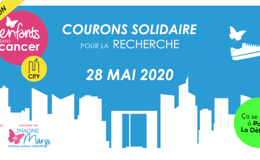 La course Enfants sans Cancer City 2020