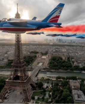 Une vente aux enchères d'exception avec la Patrouille de France