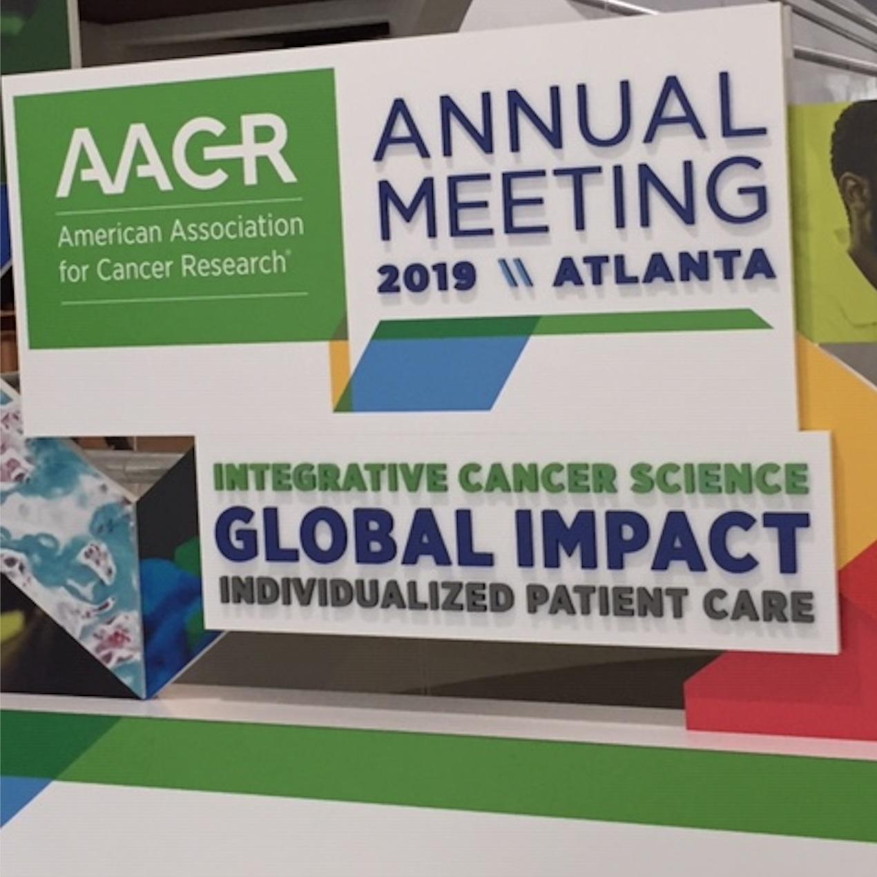 AACR 2019 à Atlanta