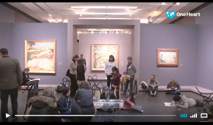 15/02/17 – «Les enfants malades vivent un moment exceptionnel au musée d'Orsay» – OneHeart