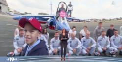 reportage M6 meeting air legend Melun rencontre entre les petits guerriers et les pilotes de la Patrouille de France