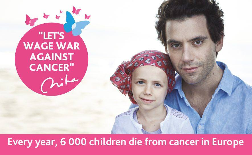 Awareness campaign on childhood cancer with Mika