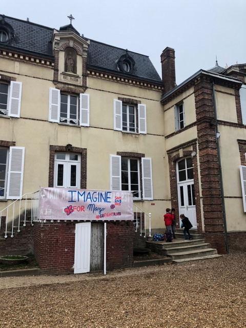 cross solidaire organisé à l'école Saint-Joseph à Nogent-le-Roi au profit de l'association Imagine for Margo