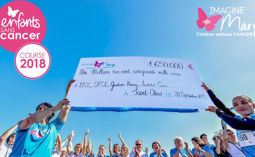 Un nouveau record pour la course Enfants sans Cancer !