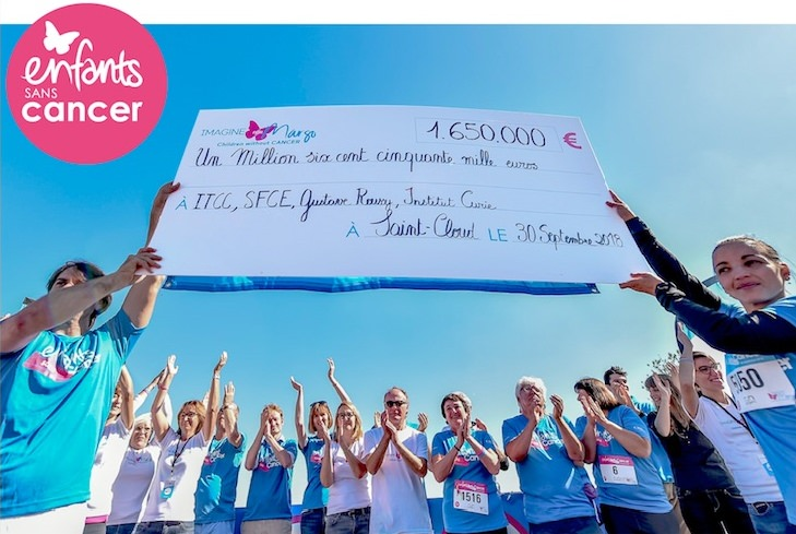 course Enfants sans Cancer Saint-Cloud