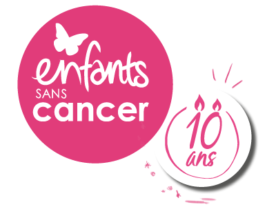Logo course Enfants sans Cancer 10e édition