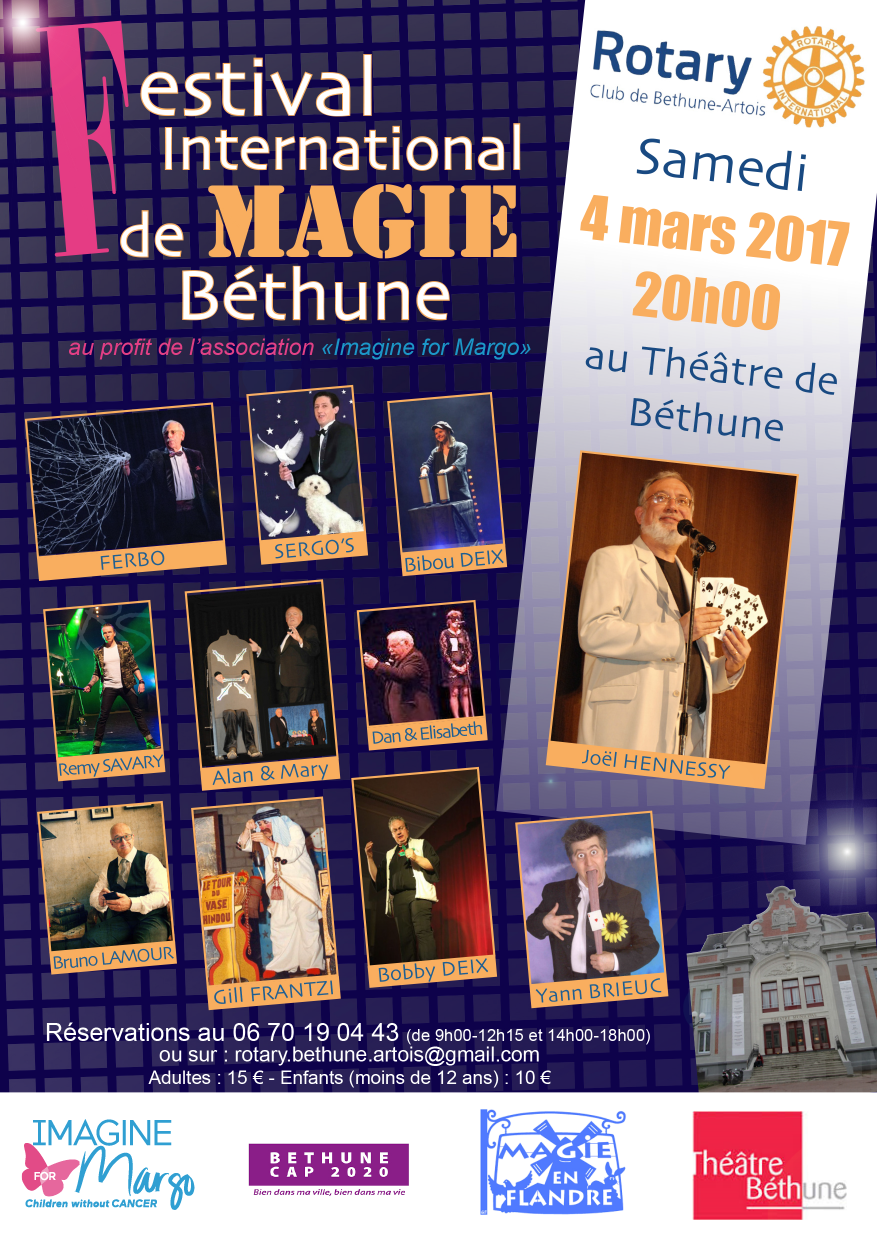 flyer magie rotary