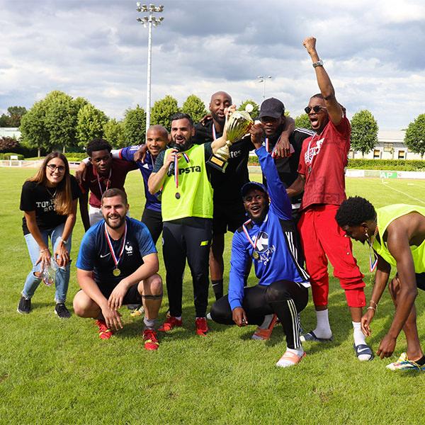 tournoi de foot solidaire au Plessis-Trévise