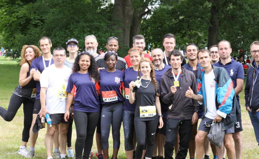Free à la Go Sport Running : un challenge entreprise pour notre association !