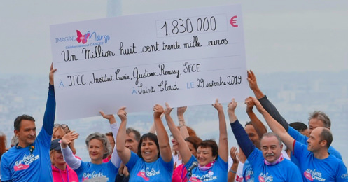 photo cheque course enfants sans cancer 2019