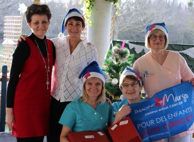 La magie de Noël est arrivée dans les hôpitaux de la région parisienne !