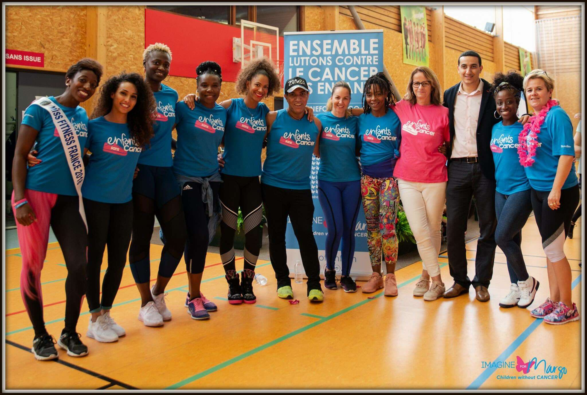 Zumba party caritative en soutien à la cause du cancer des enfants pour Imagine for Margo