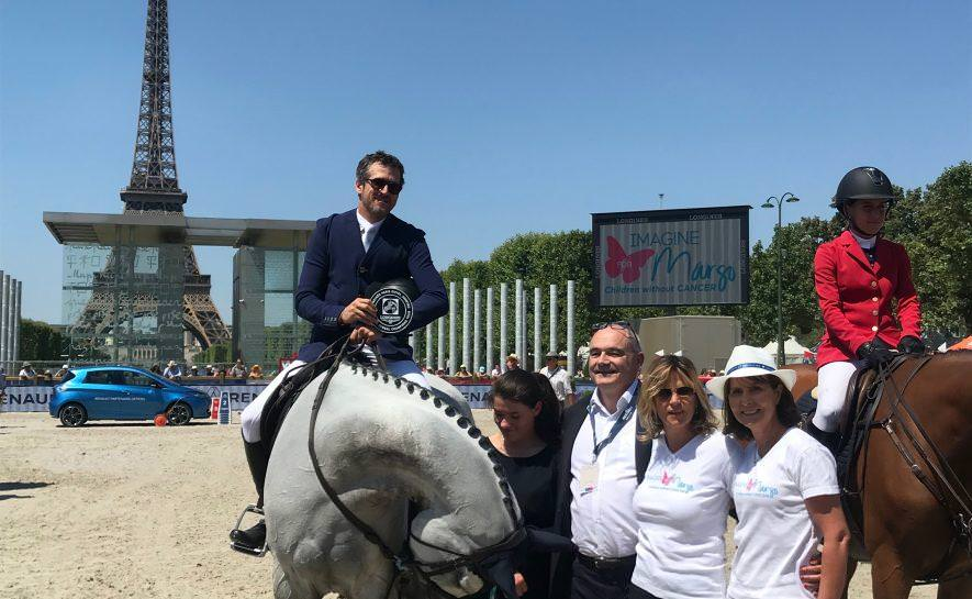 Imagine for Margo au Longines Paris Eiffel Jumping
