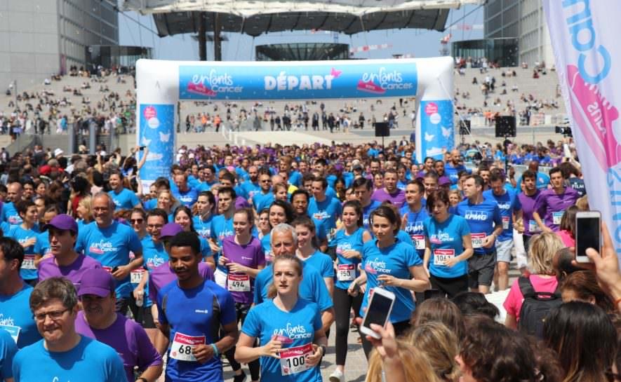 La course Enfants sans Cancer City 2020