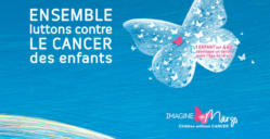 Isabelle Simler a réalisé de magnifiques visuels pour illustrer la cause du cancer des enfants pour Imagine for Margo