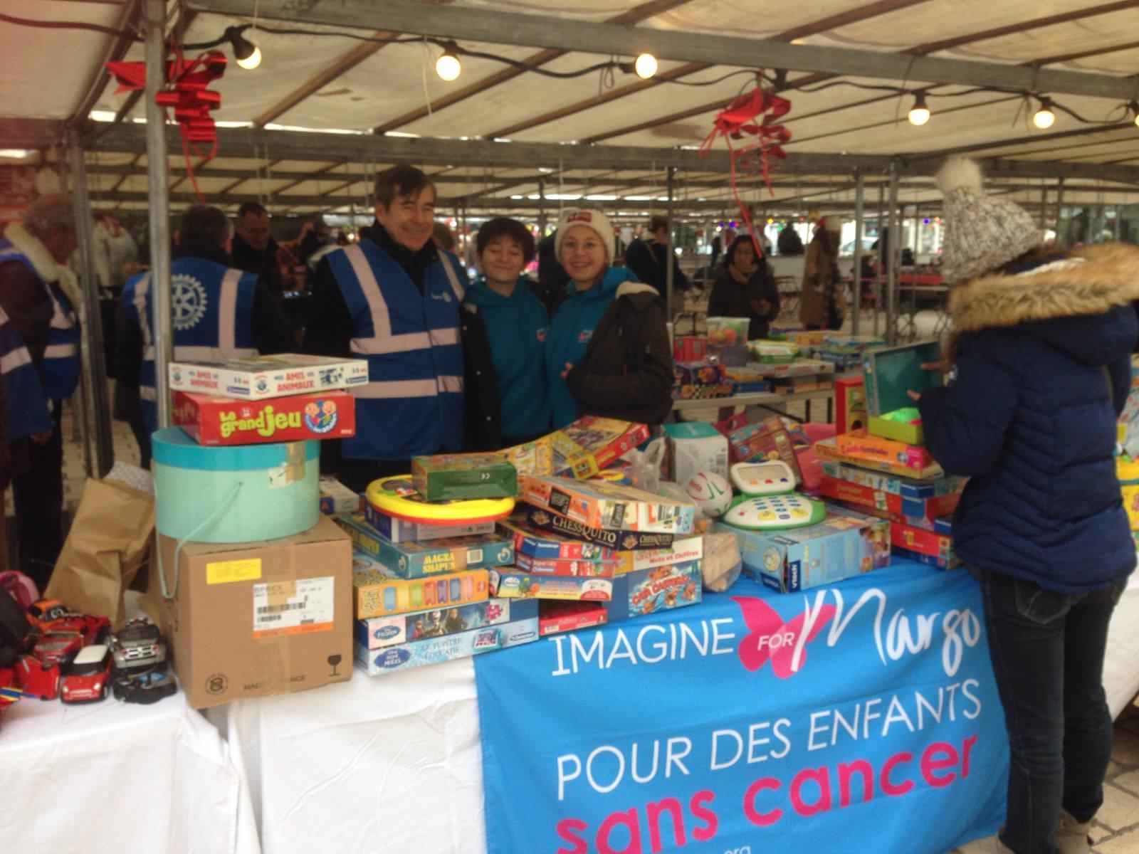 opération jouets solidaire grâce au Rotary de Saint-Germain-en-Laye