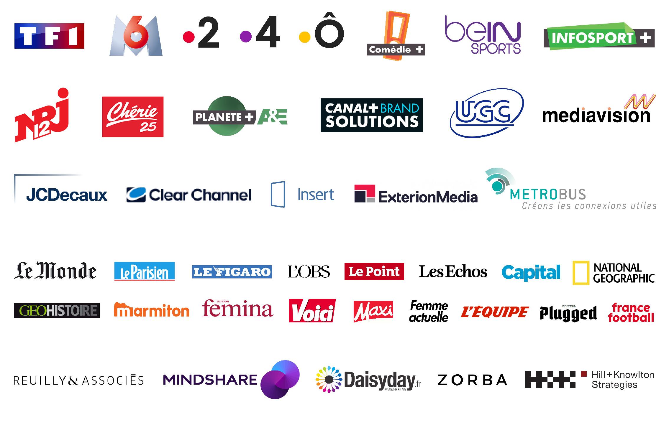 logos medias campagne 2019 Mika