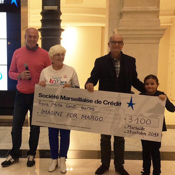 La Société Marseille de Crédit court pour Imagine for Margo