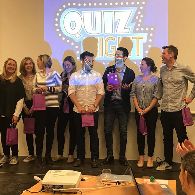 quiz night organisé par le lycée international de Saint-Germain-en-Laye au profit d'Imagine for Margo