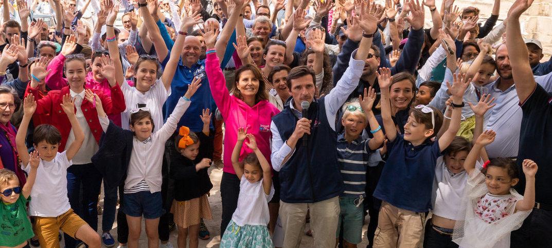 deuxième édition du rallye du coeur à Versailles au profit dImagine for Margo