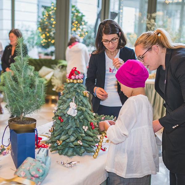 Atelier floral au Ritz avec Imagine for Margo