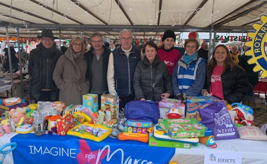 Magnifique opération solidaire pour Noël grâce au Rotary !