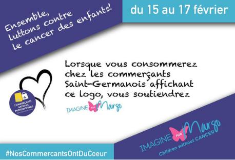À Saint-Germain-en-Laye les commerçants ont du coeur