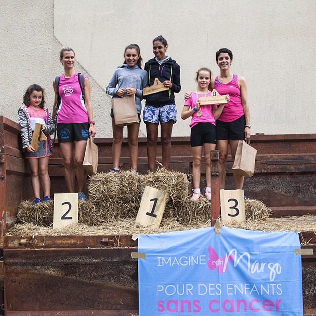 course en relais à Serres-Castets organisées au profit de l'association Imagine for Margo