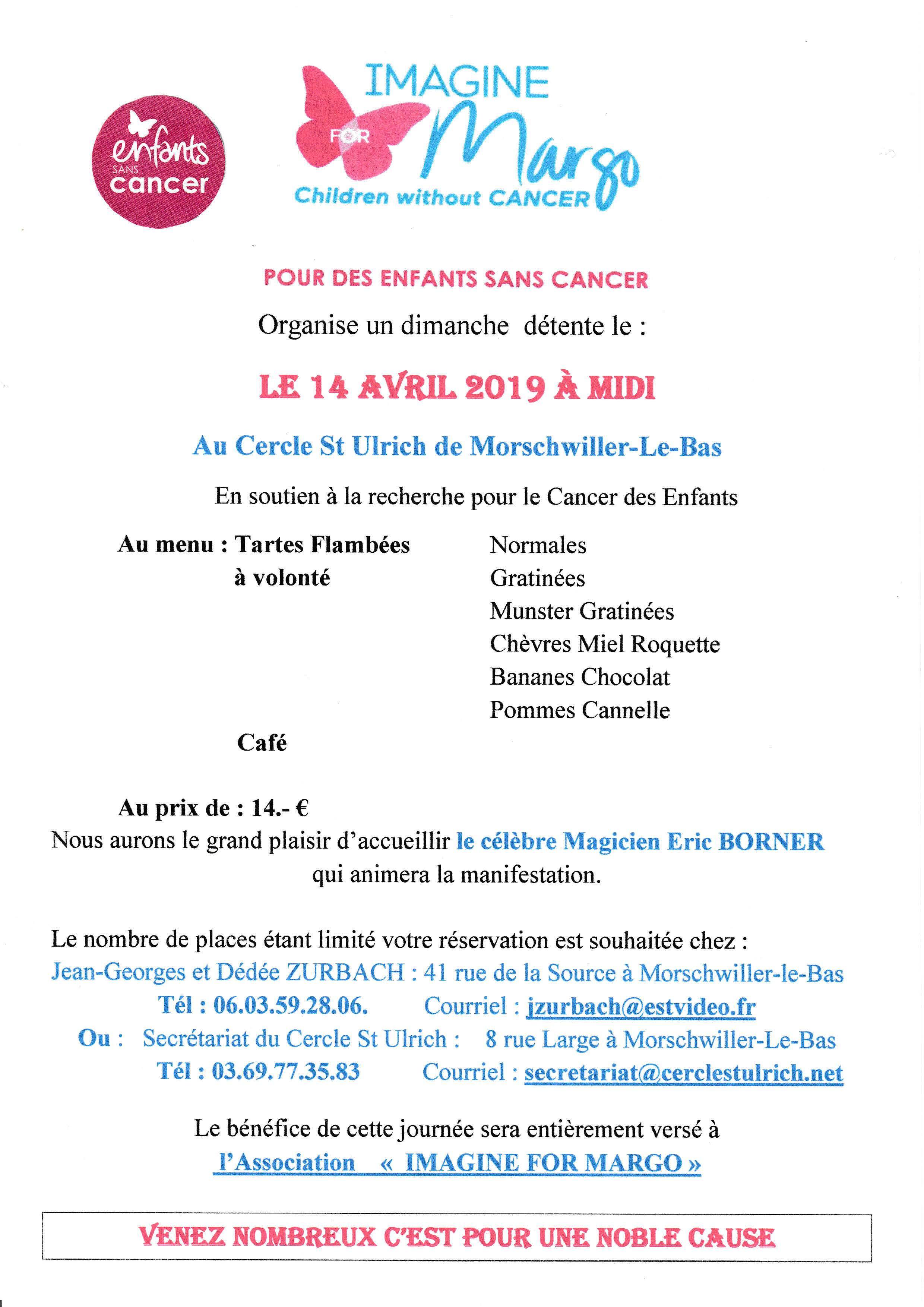 évènement organisé pour lutter contre le cancer des enfants