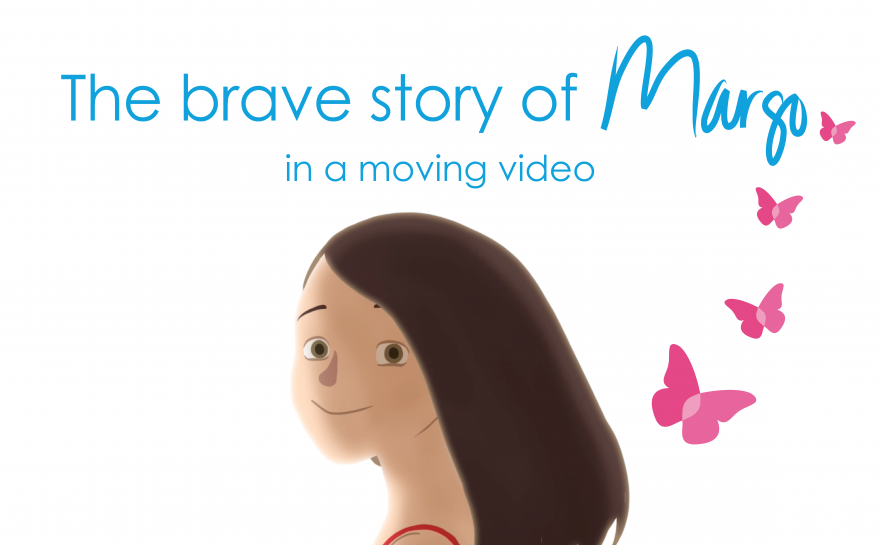 The brave story of Margo, in a moving video