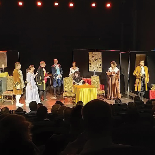 théâtre solidaire au profit d'Imagine for Margo