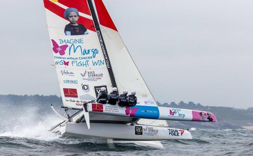 L'incroyable défi du Tour Voile for Margo