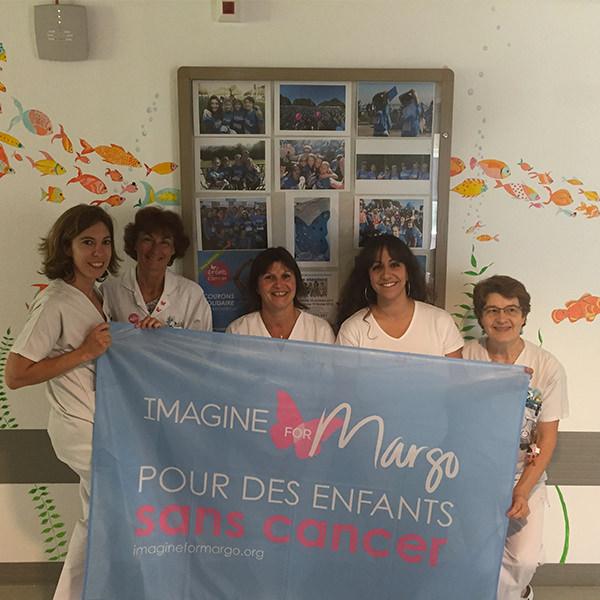 hôpital de Mantes-la Jolie : Imagine for Margo a financé des aménagements dans l'unité pédiatrique
