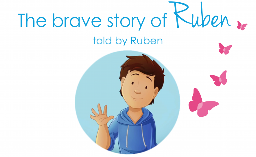Ruben, a little warrior in remission, tells us his story