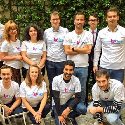 Fondation Linklaters court en soutien à Imagine for Margo aux 20km de paris